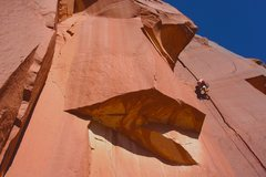 Rock Climbing Photo: First Indian Creek route!  Incredible intro to the...