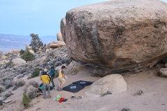 Rock Climbing Photo: Getting ready to send Skye Dance!