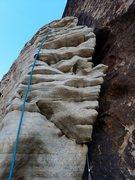 Rock Climbing Photo: Start of pitch 2