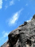 Rock Climbing Photo: Fox