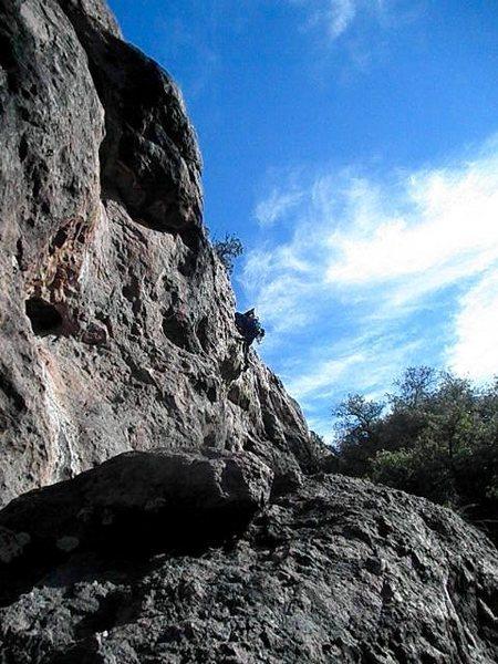 Rock Climbing Photo: Scott Ain't Got Time For That