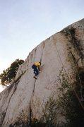 "Rock Climbing Photo: Scott Cole TRing ""Lock Tight"" (5.10b), M..."