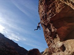 Rock Climbing Photo: Onsighting