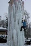Rock Climbing Photo: start for 16-17 ice season here in IL.
