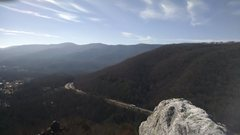 Rock Climbing Photo: The view at Devil's Race Track. It's cool ...