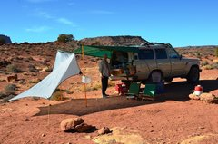 Rock Climbing Photo: Utah camping