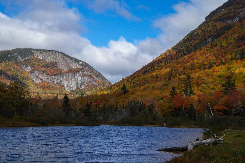 Rock Climbing Photo: Mt. Willard from Willey Pond, October 2016