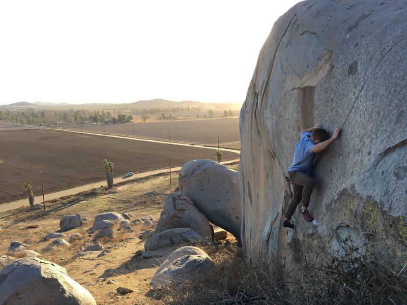 Rock Climbing Photo: Thundercat!