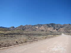 Rock Climbing Photo: The road in to the East Stronghold. March 2012