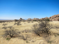 Rock Climbing Photo: The beautiful oak savannah of the West Stronghold