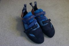 Evolv Shamans (New Version) $100 OBO Size 47 - but Evolvs run much smaller compared to other shoes. They would fit someone around US men's 12-12.5 street shoe well.