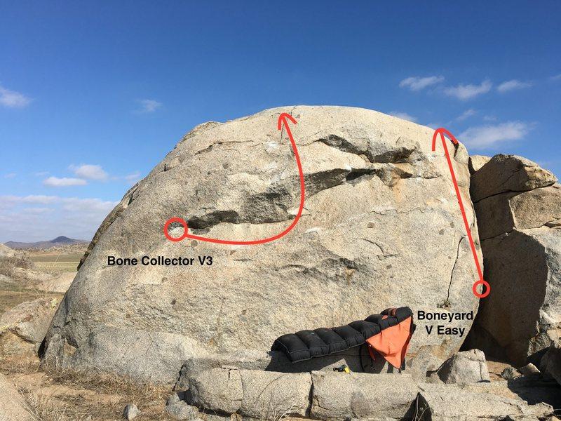 The Boneyard Boulder