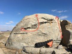 Rock Climbing Photo: The Boneyard Boulder