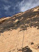 Rock Climbing Photo: Armatron December 2016 with Eric & Mike