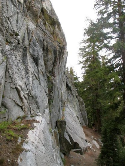 Rock Climbing Photo: Spring Wall Left, Mammoth Lakes Area