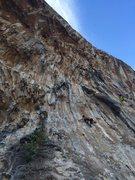 Rock Climbing Photo: Starting the day on Monahiki Elia (6a) next to the...