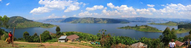 Rock Climbing Photo: Lake Bunyonyi, July 2011