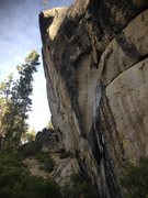 Rock Climbing Photo: Welcome to the steepness...  The intimidating Spac...