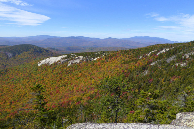 Dickey Ledge from Welch. October 2015