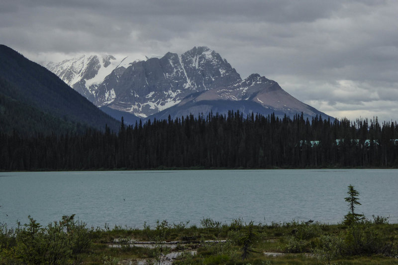 Mount Vaux from Emerald Lake. June 2015