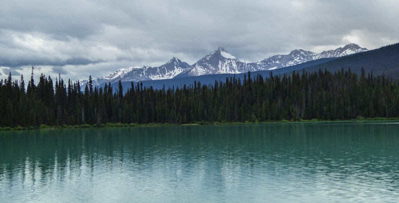 Mount King from Emerald Lake. June 2015