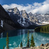 Moraine Lake, Valley of the Ten Peaks. June 2015