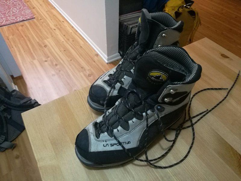Rock Climbing Photo: Boots 2