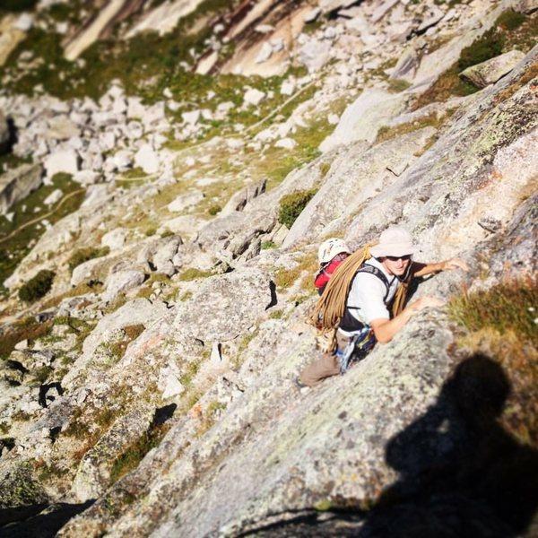 Rock Climbing Photo: pingora approach