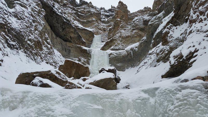 Rock Climbing Photo: Broken Hearts P1-2 10-Dec-16