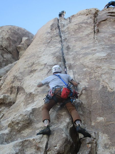 Rock Climbing Photo: Mr. Misty Kiss