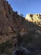 Rock Climbing Photo: Hoodoo Voodoo. Fun, but sharp!
