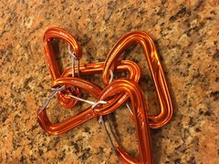 Carabiners. Unused. selling for $3 each.