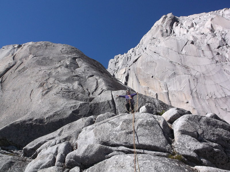 Rock Climbing Photo: view from pitch 8