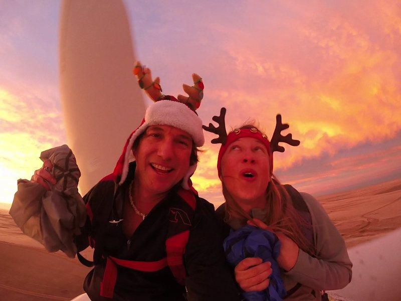 Rock Climbing Photo: Merry Christmas!
