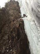 Rock Climbing Photo: Left side of Dracula.  Awesome lead.  Felt near ov...