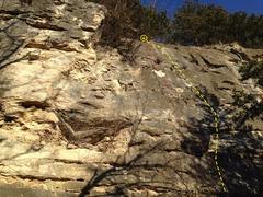 Rock Climbing Photo: Caveman 5.9