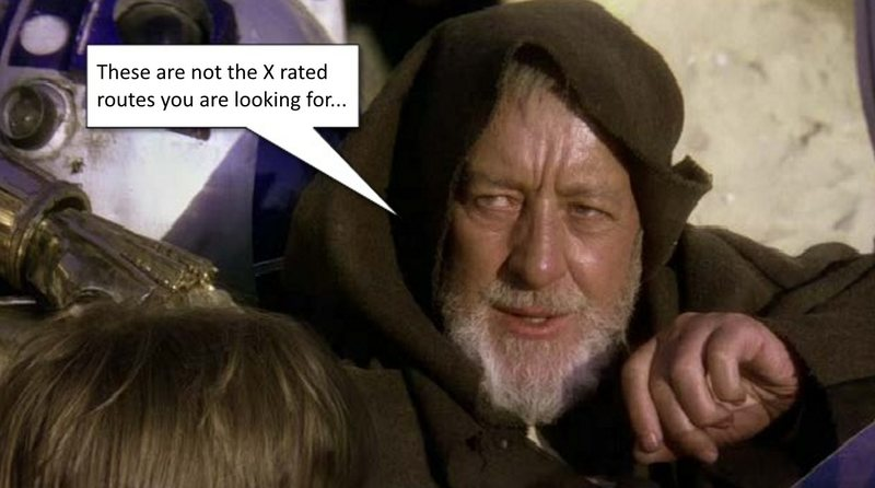 Rock Climbing Photo: You are no Jedi...