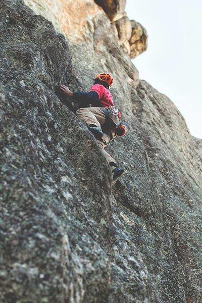 Rock Climbing Photo: Greetings!  Photo by Laura Heisinger