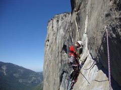 Rock Climbing Photo: One pitch from the summit, Zodiac