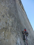 Rock Climbing Photo: pitch 21, Mescalito