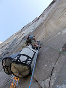 Rock Climbing Photo: haulin' freight
