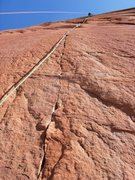Rock Climbing Photo: desert shield headwall