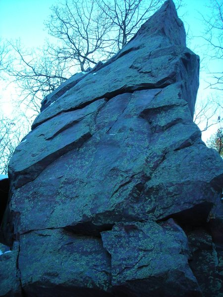 Rock Climbing Photo: isolated block