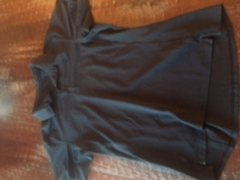 Rock Climbing Photo: Arcetryx black mens lg polo. crappy picture I know...