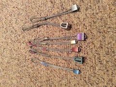 Rock Climbing Photo: Set of 7 asst BD nuts. Can't read sizes on all...