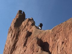 Rock Climbing Photo: Montezuma Tower.
