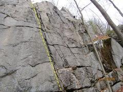Rock Climbing Photo: Finny