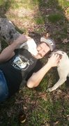 Rock Climbing Photo: They pups attacked my belayer....