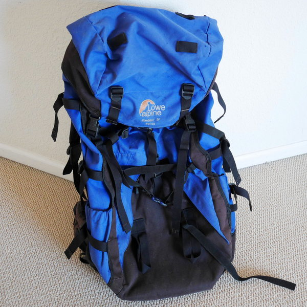 Rock Climbing Photo: Lowe Alpine Contour IV Backpack