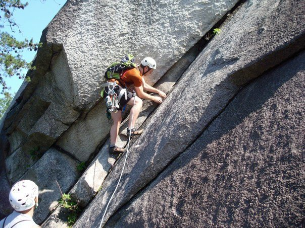 Rock Climbing Photo: The start of Great Arch